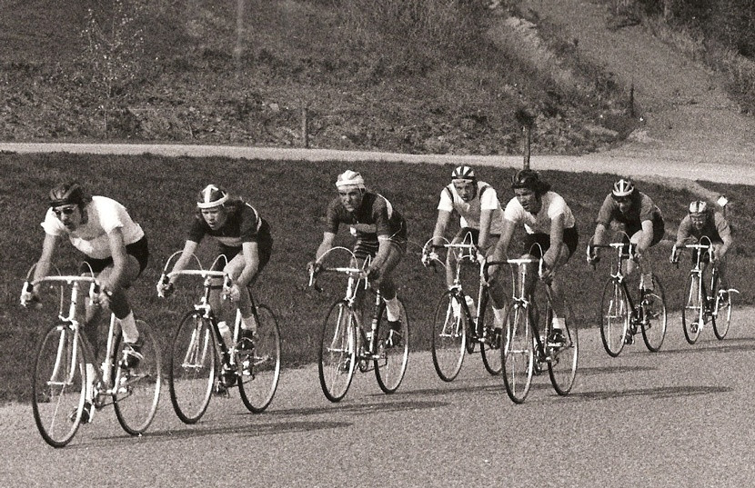 Junior Field, 1973 River Falls Road Race
