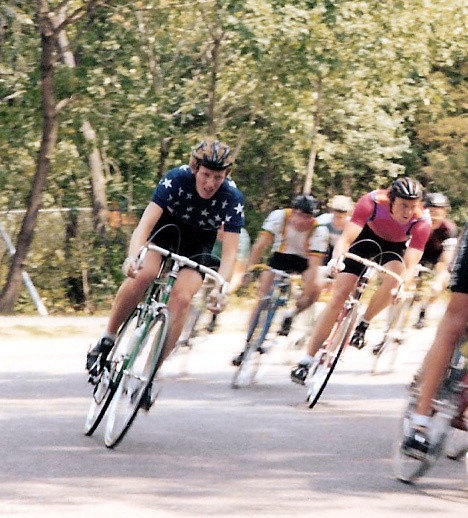 Connie Carpenter, Lake Harriet Criterium, Minneapolis, MN