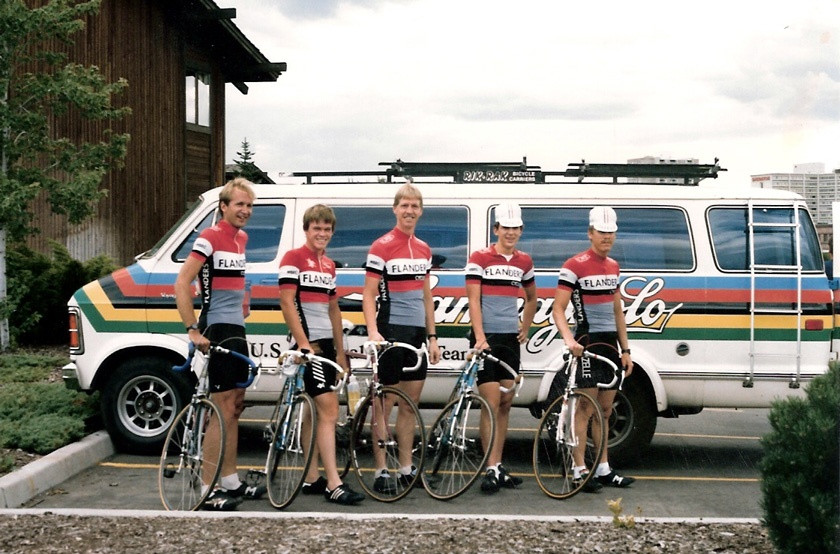 MBRC Team 1986 Tour of Spokane